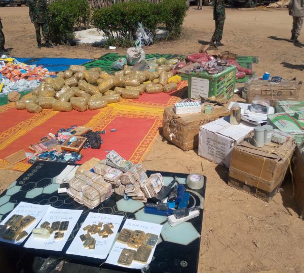 Des produits illicites et de la contrebande estimés à plus d'un milliard de Fcfa saisis par la Brigade Mobile Nationale