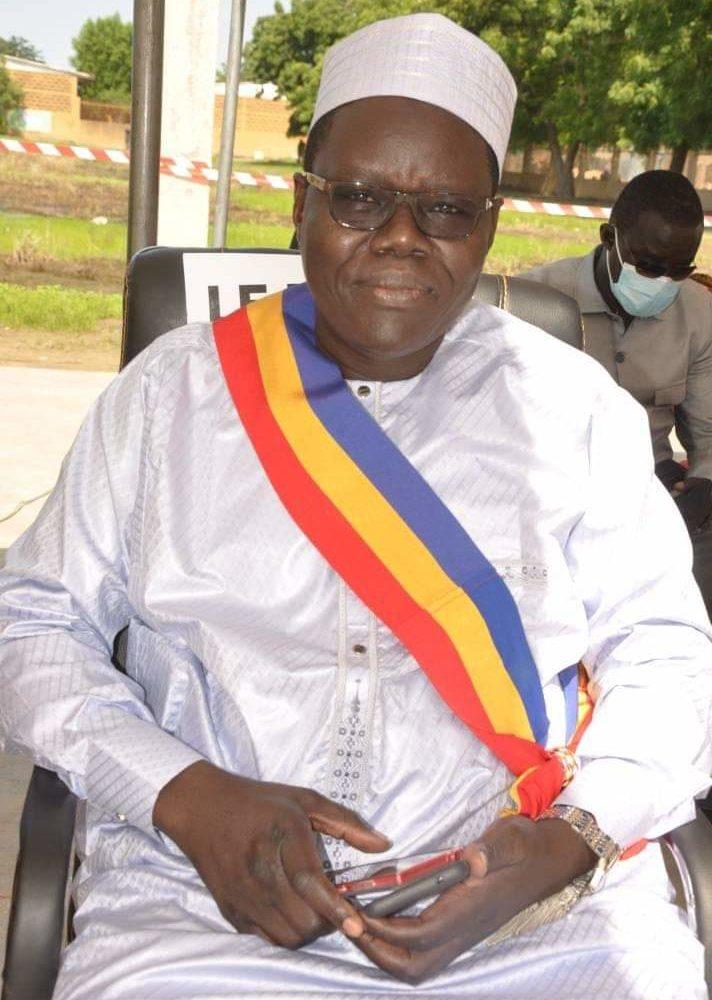Ibrahim Wang Laouna Foullah élu maire de la Ville de N'Djamena 1