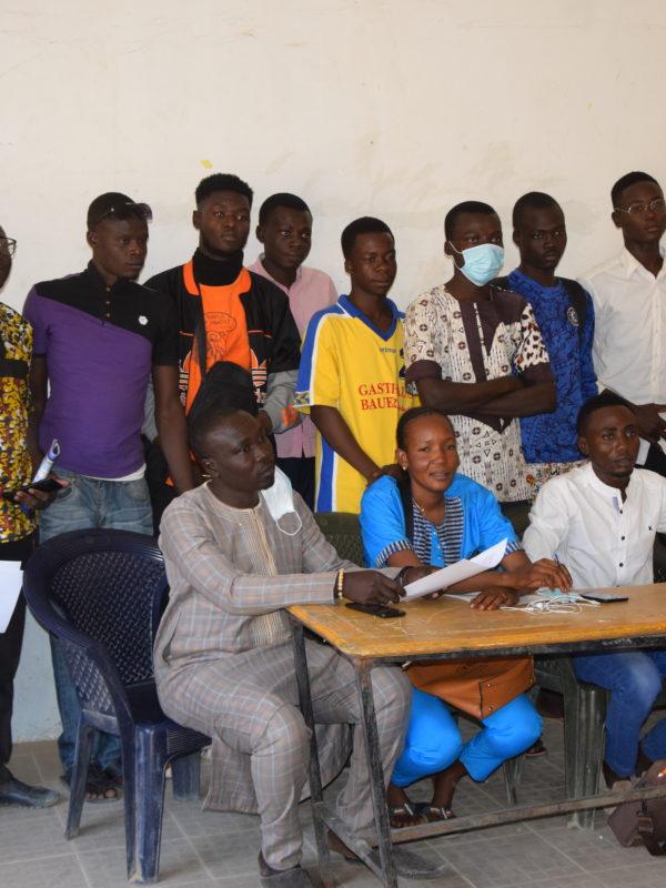 Les jeunes du 7ème arrondissement appellent à un changement à la Ftfa