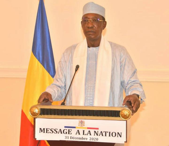 Message à la nation du Maréchal du Tchad 1
