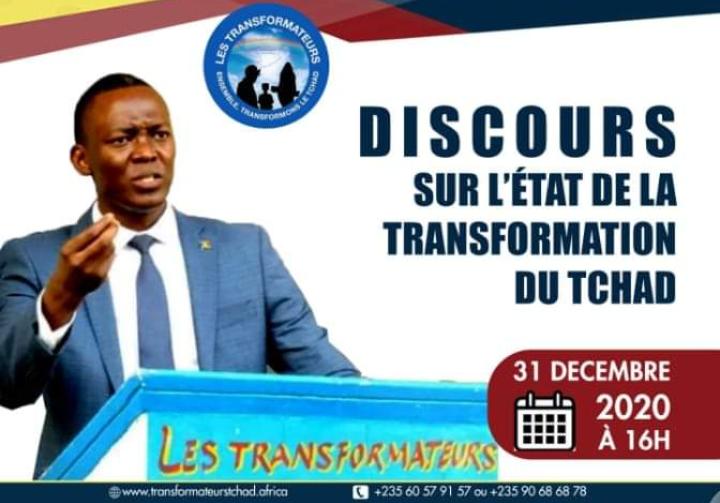 Message sur l'état de la transformation du Tchad de Dr Succès Masra 1
