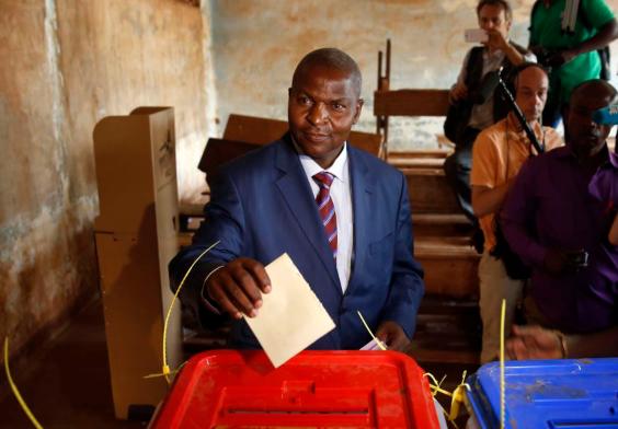 Rca: le président sortant Archange Touadéra réélu avec 53,92% des voix 1