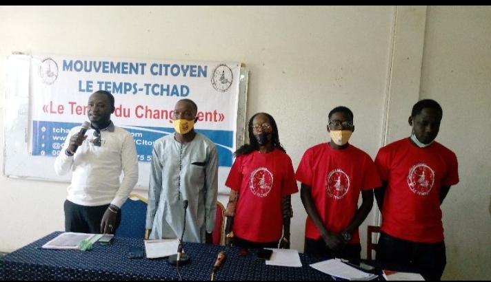 Le Mct appelle à la mobilisation des jeunes et des femmes pour la marche contre le 6ème mandat de Deby 1