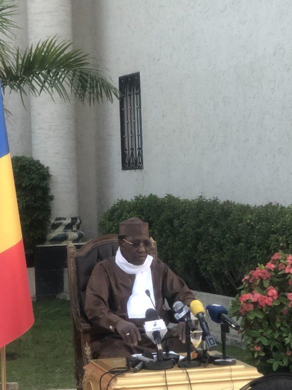 Idriss Deby Itno «moi aussi mes frais de campagne n'ont pas été remboursés»