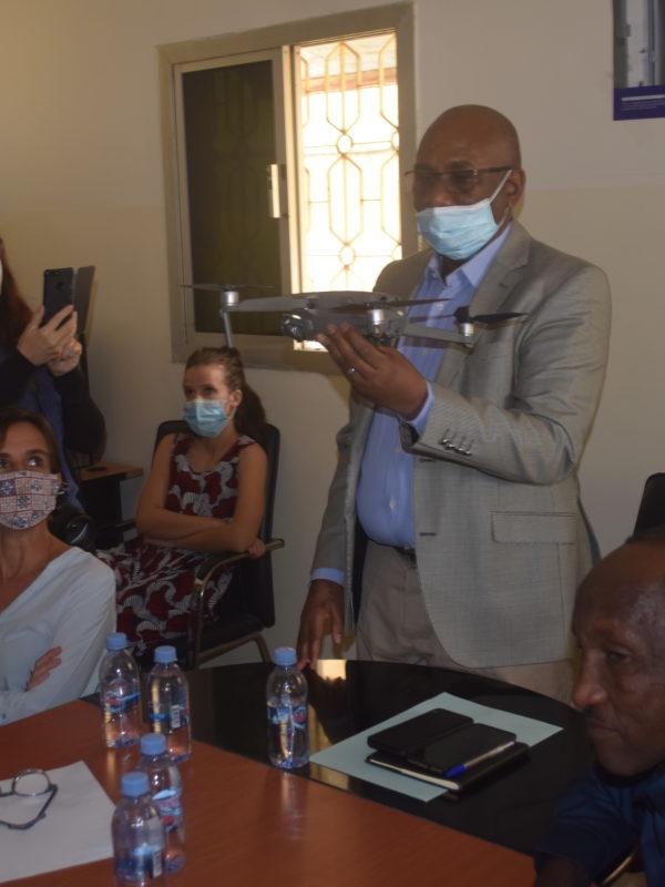 L'Ong humanité et inclusion dote le Hcnd de 3 drones