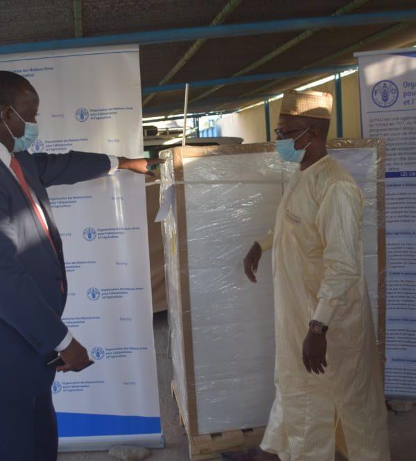 La Fao offre 150 kilogrammes de bio pesticide au Tchad