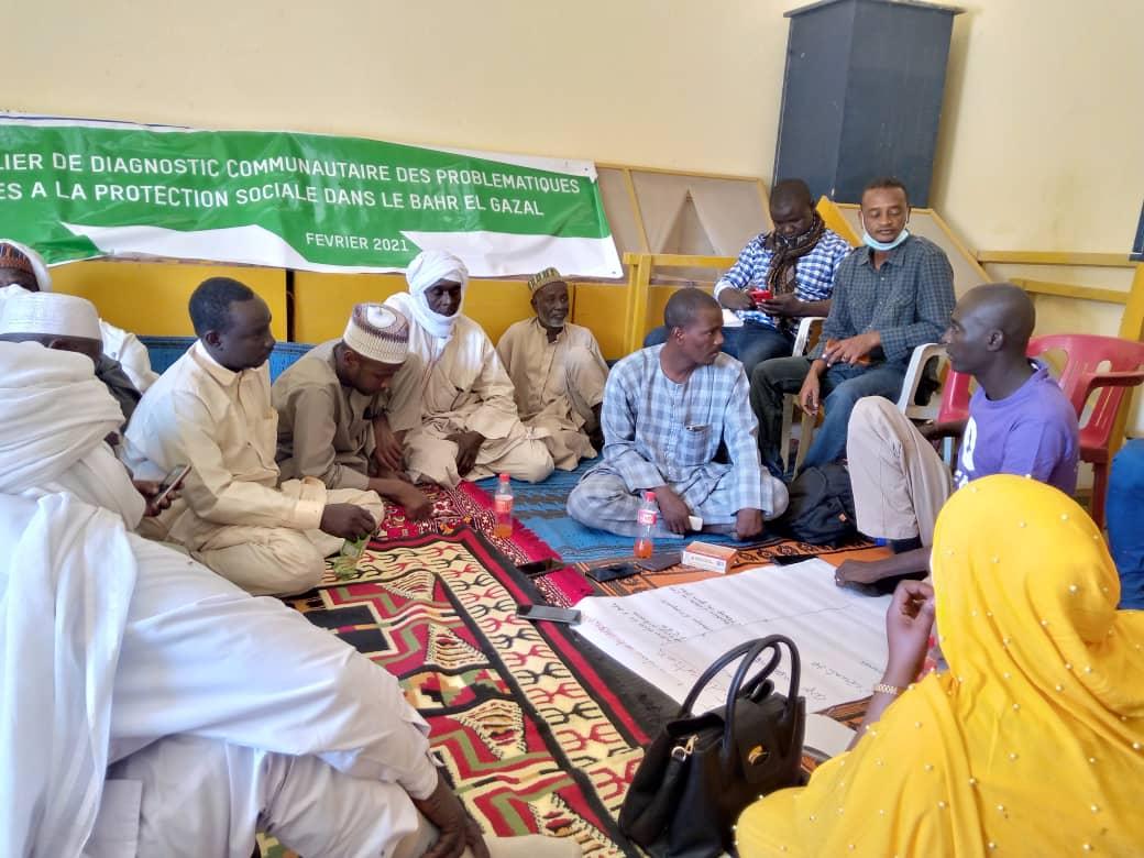 Oxfam identifie les problèmes liés à la protection sociale dans le Bahr El Gazal 1