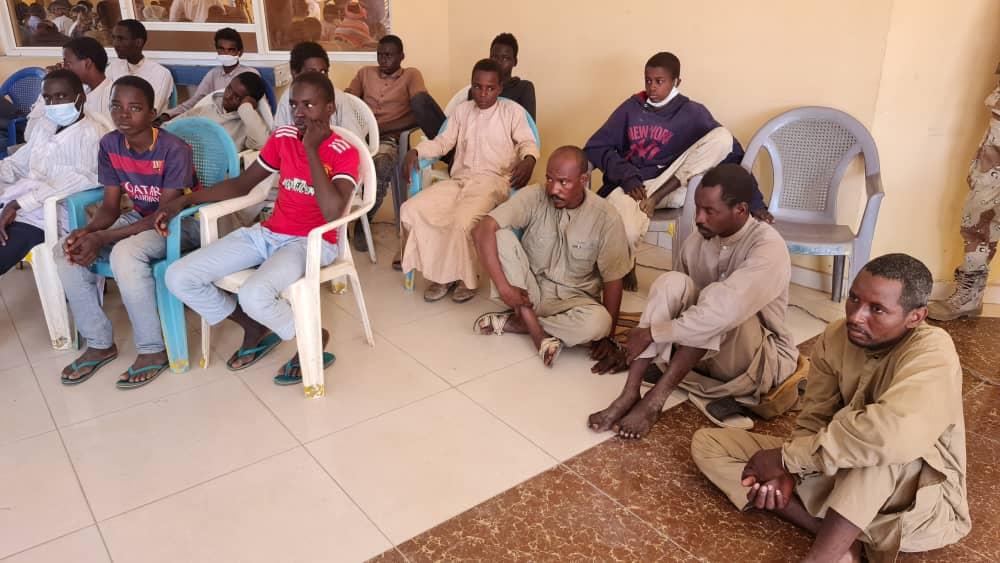 23 victimes de trafic d'êtres humains confiées au ministère de la femme 1
