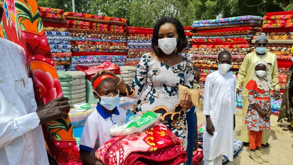 Plus de 700 kits de protection offerts aux enfants vulnérables 1