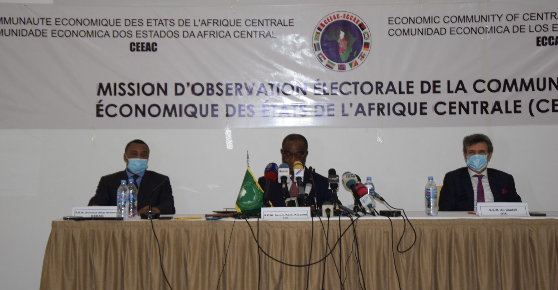 Les observateurs de la Ceeac, de l'Oci et de l'Ua satisfaits de la présidentielle au Tchad 1