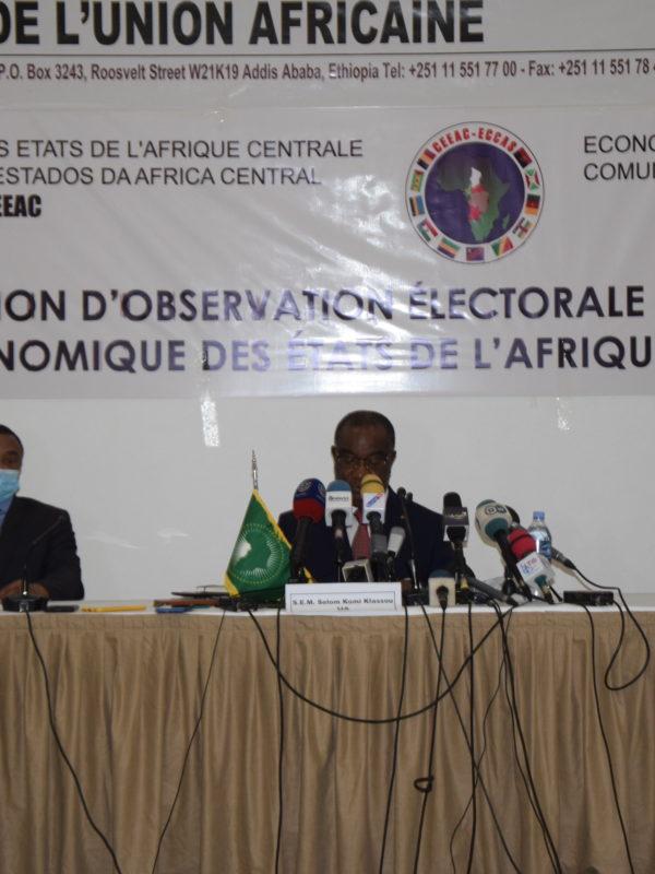 Les observateurs de la Ceeac, de l'Oci et de l'Ua satisfaits de la présidentielle au Tchad
