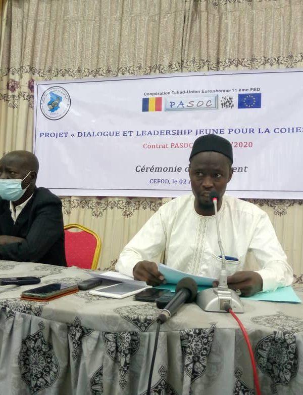 Lancement du projet « Dialogue et leadership jeune pour la cohésion sociale