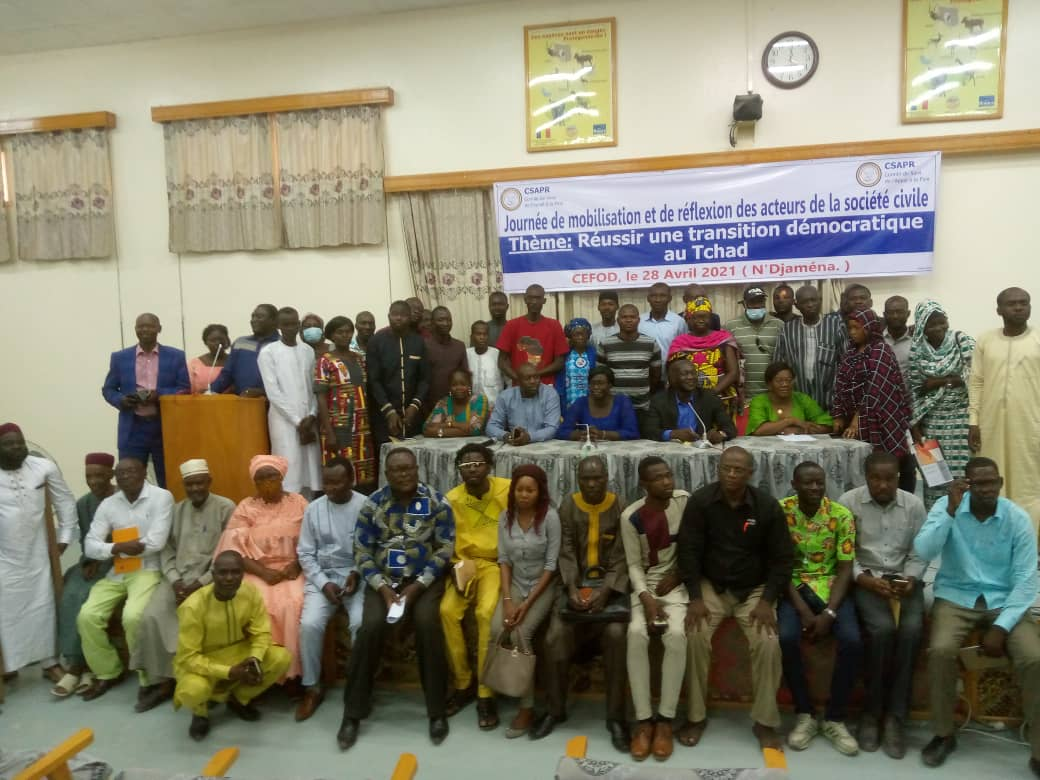 Le Csapr exige la mise en place d'une transition civile 1
