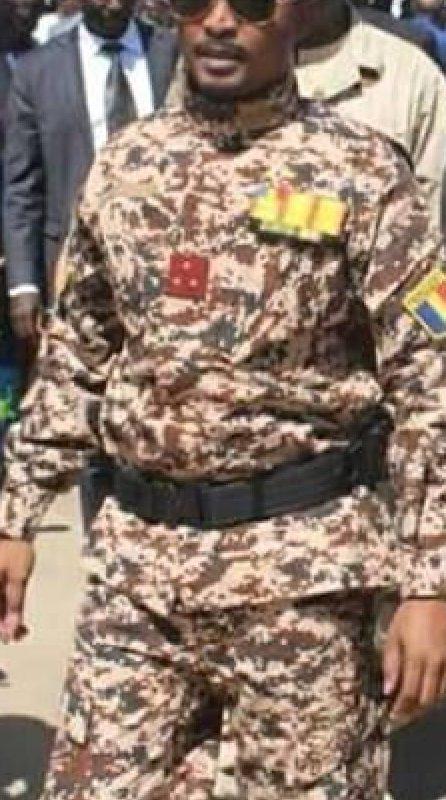 Mahamat Idriss Déby Itno, nouveau chef du conseil militaire de transition