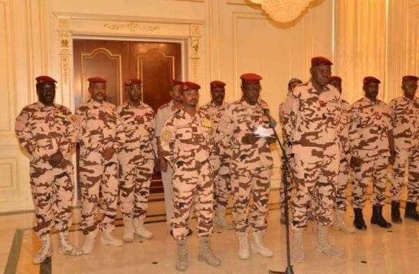 Les 15 membres du Conseil Militaire de Transition