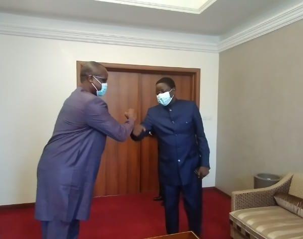 Rencontre d'échange entre le Premier Ministre et le coordonnateur de la Cascidho