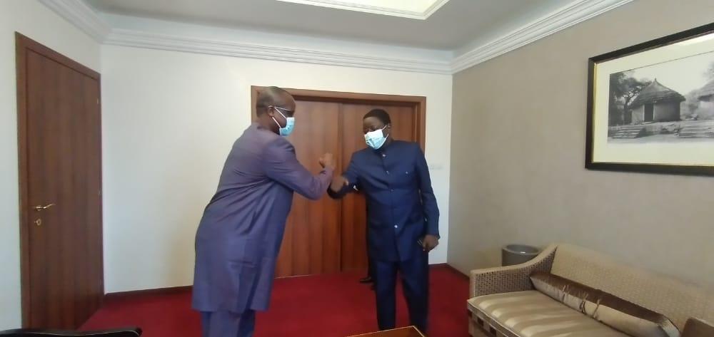 Rencontre d'échange entre le Premier Ministre et le coordonnateur de la Cascidho 1