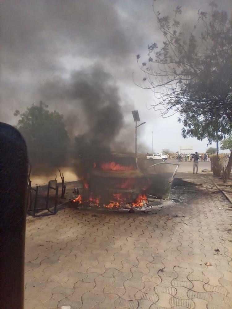 La ministre de l'enseignement supérieur prise en otage au campus universitaire de Toukra 1