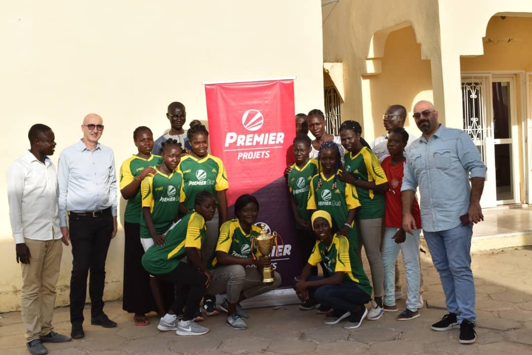 L'équipe féminine de football de Doba remporte le trophée grâce au soutien de Premier Bet 1