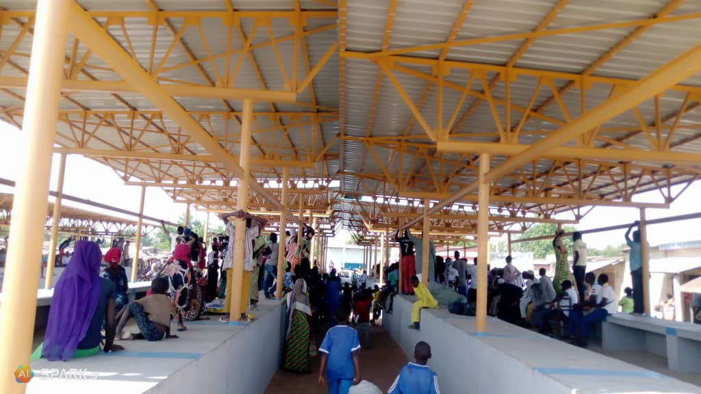 218 places dont 128 hangars construits au marché de Béré 1