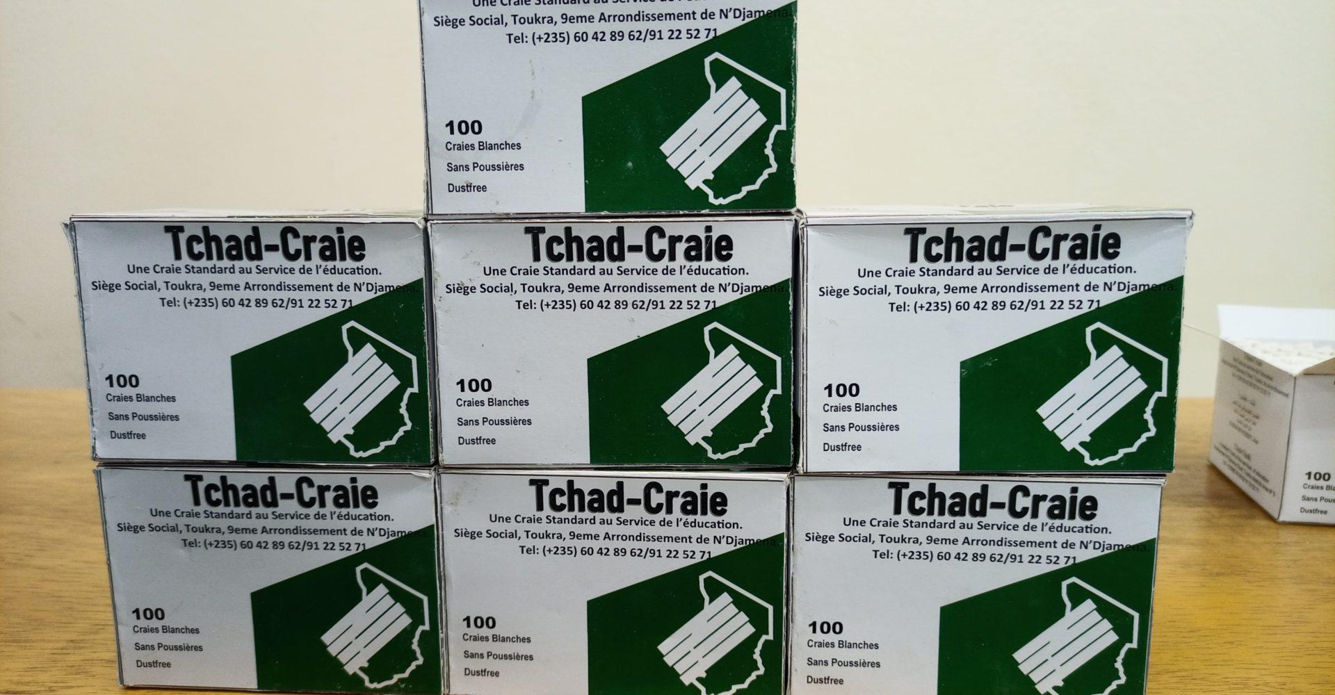 La première entreprise de production de craies est lancée au Tchad 1