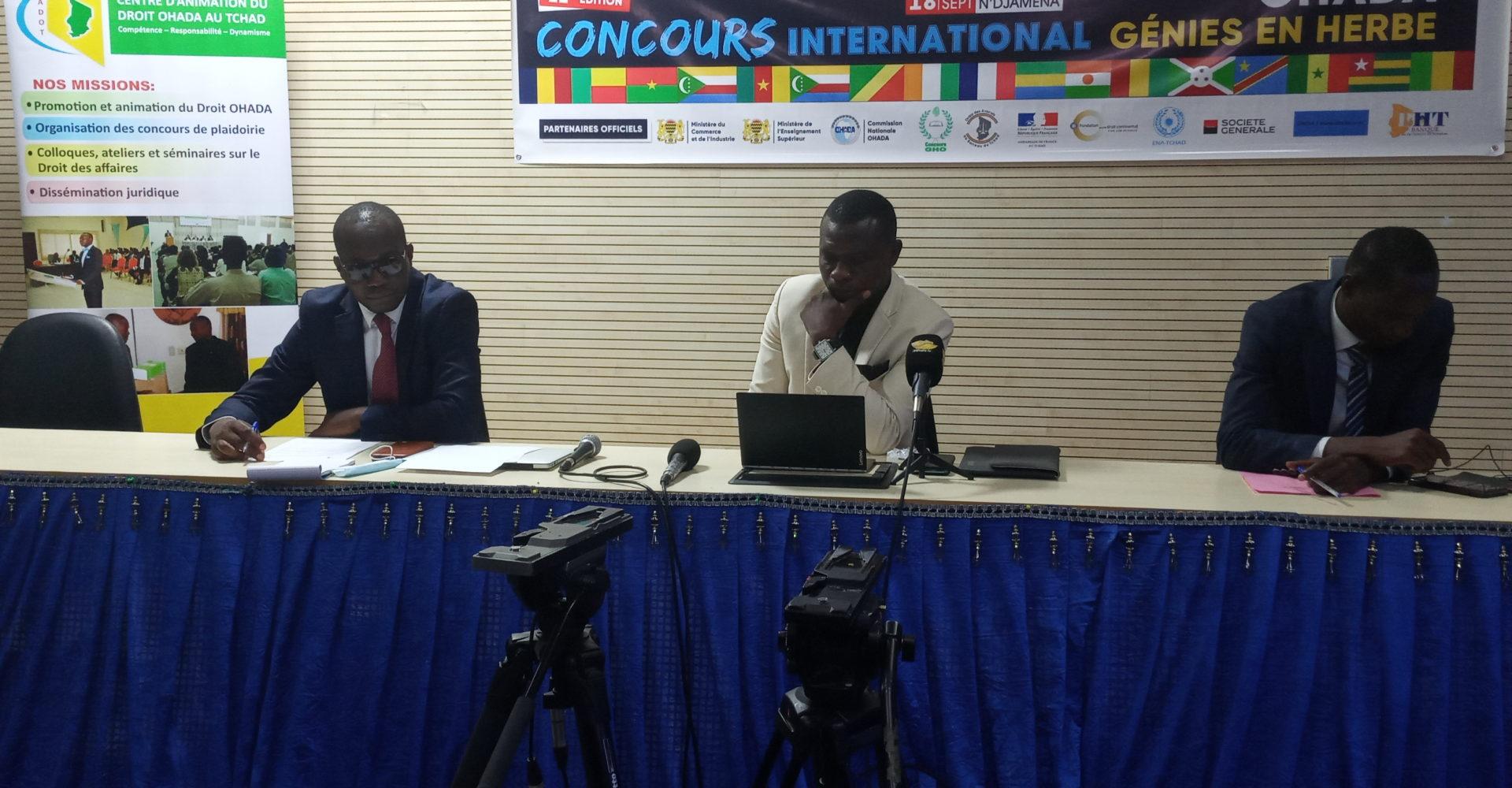 Concours international «Génies en Herbe»: les jeunes talents s'activent 1