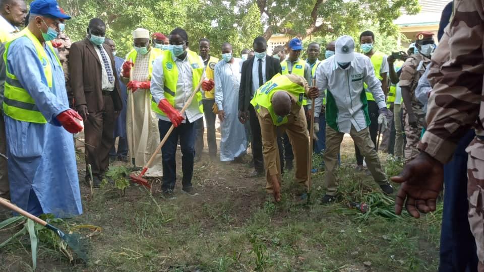 Journée mondiale du nettoyage célébrée au Tchad 1