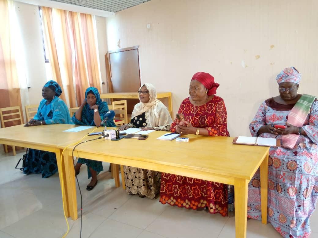 Le Conseil national des femmes leaders du Tchad se rejoui des 33% des femmes au Cnt 1
