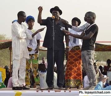 Laoukein Kourayo Mbaiheurem s'adresse aux N'Djamenois