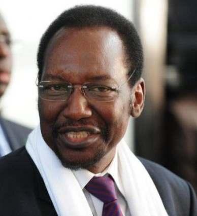 Dioncounda Traoré, chef de la mission d'observation électorale de l'UA