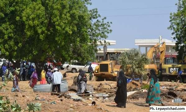 Les bulldozers ont sévi à Nguéli