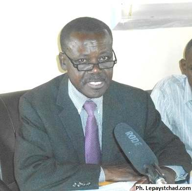 Celestin Topona, directeur de campagne de Saleh Kebzabo