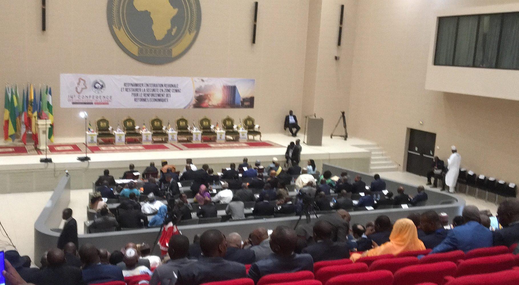 Cemac : L'ouverture de la 14ème conférence des chefs d'Etat attendue dans les minutes qui suivent à N'Djaména au Tchad 1