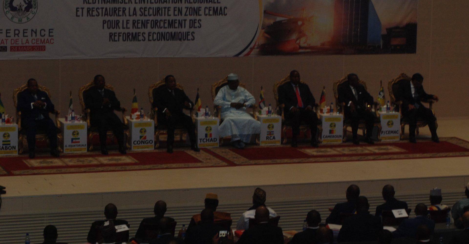 14ème conférence des chefs d'Etat de la Cemac: le Gabon, la Guinée Équatoriale et du Cameroun se sont fait représenter 1