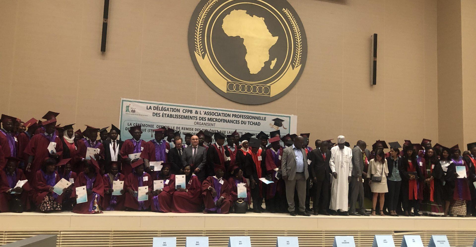 105 étudiants du centre de formation des professions bancaires ont reçu leurs parchemins 1