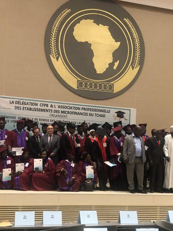 105 étudiants du centre de formation des professions bancaires ont reçu leurs parchemins