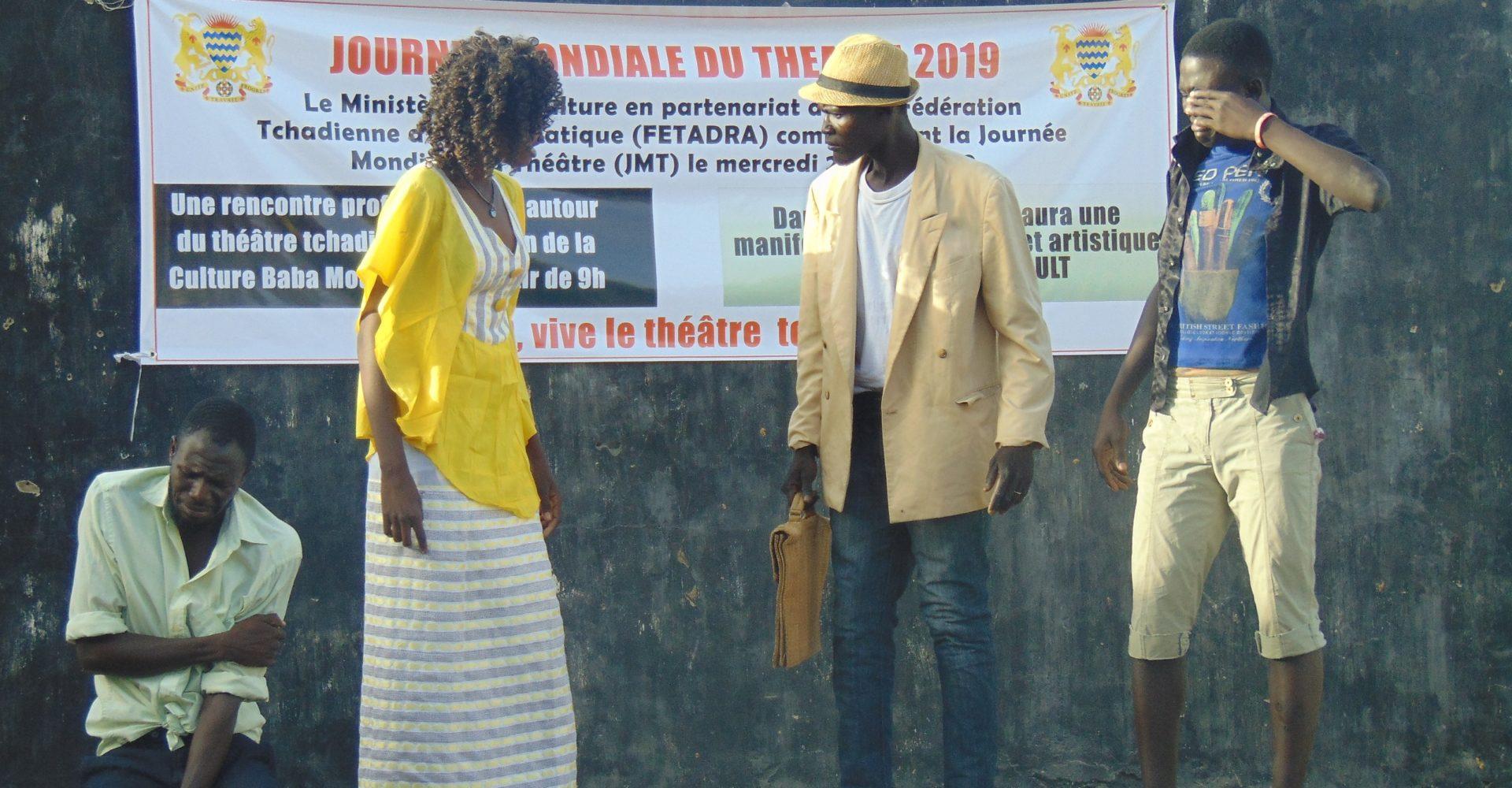 Le Tchad célèbre le théâtre 1