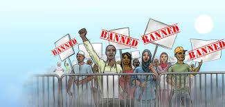(L'arrestation de 13 personnes est le dernier épisode de la répression contre la liberté de manifester)  Amnesty International 1