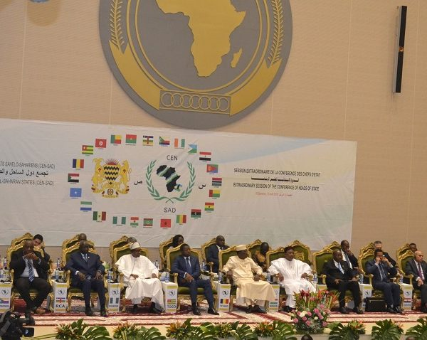 Cen-Sad: la sécurité et la relance de l'organisation au cœur du sommet de N'Djaména