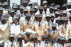 Sortie des élèves de la 17eme promotion de l'Ena 1