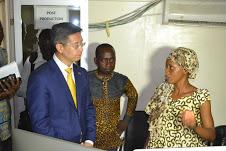 Visite de l'Ambassadeur de la Chine au Tchad à Electron Tv 1