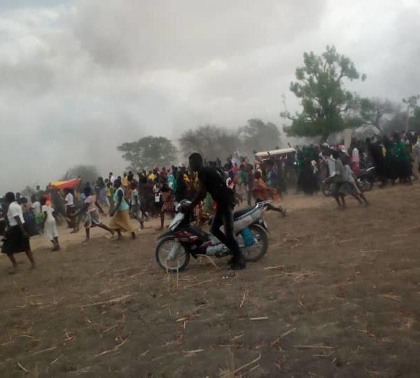 Vives tensions entre policiers et jeunes à l'enterrement de Mbaïguedim Richard