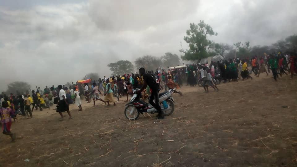 Vives tensions entre policiers et jeunes à l'enterrement de Mbaïguedim Richard 1