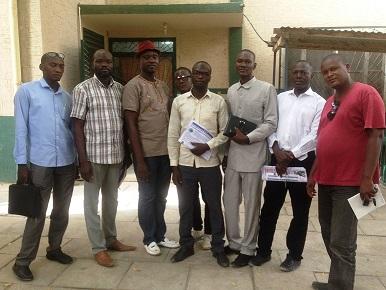 Juda Allahondoum, reconduit à la tête du patronat de presse tchadienne 1