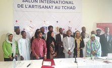 Le Tchad abritera le 1er salon international de l'artisanat du 12 au 14 septembre 2019 1