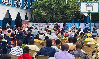 Le Hcr promeut l'intégration des réfugiés à travers l'éducation 1