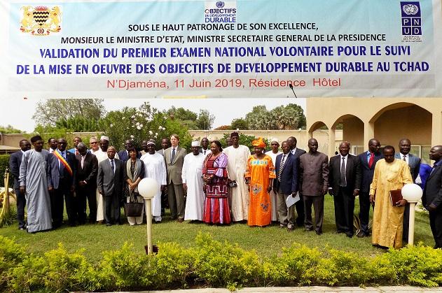 Le Tchad valide l'examen national volontaire pour le suivi et la mise en œuvre des Odd 1