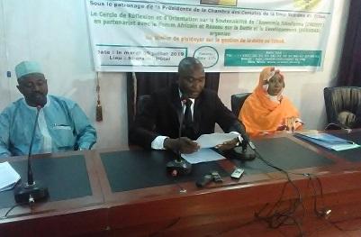 Croset et Afrodad se préoccupent de la gestion de la dette au Tchad