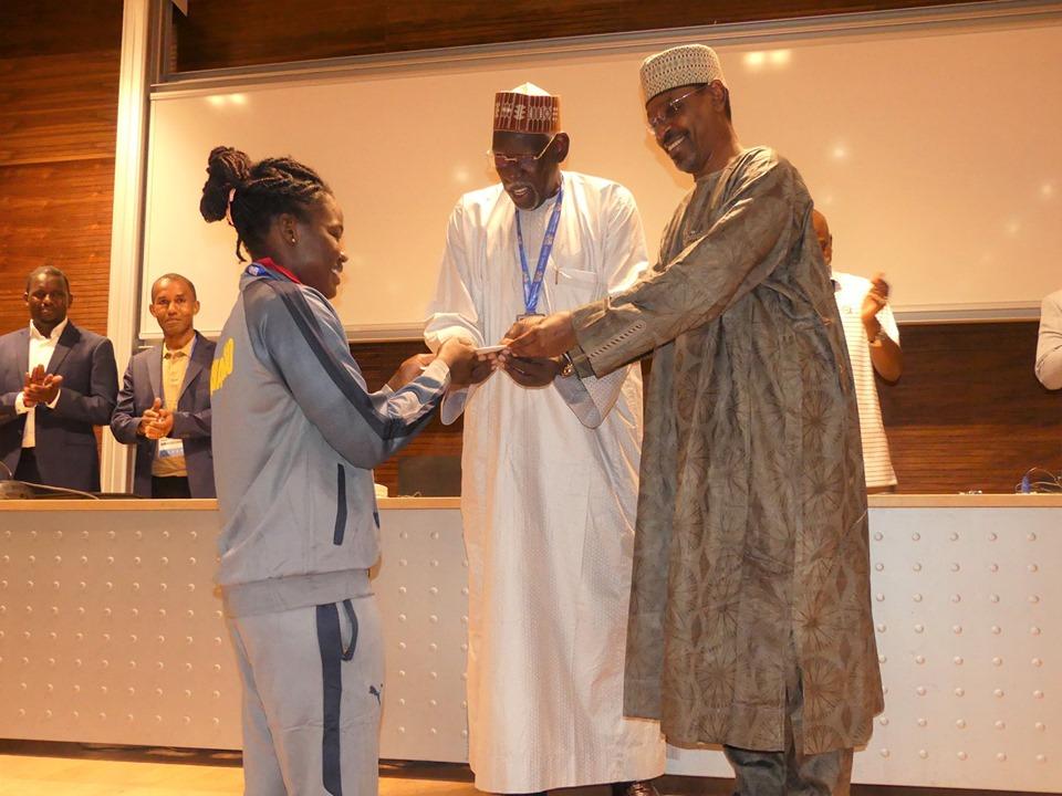 Le Tchad décroche sa première médaille aux Jeux africains du Maroc 1