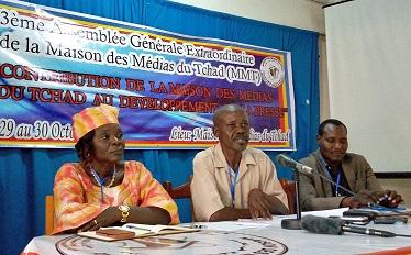 La Maison des médias du Tchad se dote de nouveaux organes
